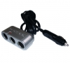 Sigaretten aansteker 12V Car Splitter 3-Weg (3-in-1 DC Socket)