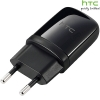 HTC TC E250 USB Travel Charger Unit / 220V USB Adapter Mini Black