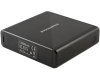 Powerocks Magic Cube Mobile Powerbank Battery Pack 12000mAh Black