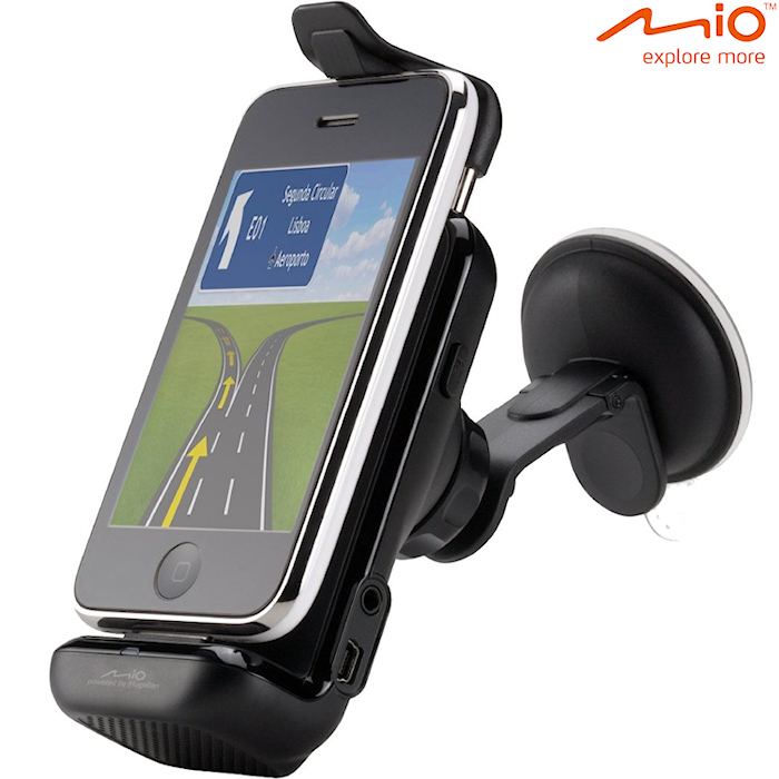 Carkit Navigatie Houder v Apple iPhone & iPod voor Apple iPhone 4 8GB