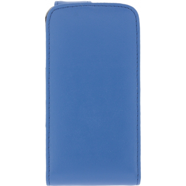 ... Flip Case voor Apple iPhone 4  4S - Blauw voor Apple iPhone 4 8GB