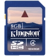 Kingston 8GB Secure Digital Card Class 4 (SDHC-Kaart) | SD4/8GB