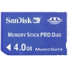 Sandisk 4GB Memory Stick Pro Duo (for Sony Products) SDMSPD-4096