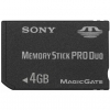 Sony 4GB Memory Stick Pro Duo - MSX-M4GS/X