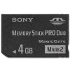 Sony 4GB Memory Stick Pro Duo Mark2 - MS-MT4G