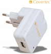 Covertec Travel Charger / USB Power Adapter for Apple iPod iPhone