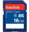 Sandisk 16GB SDHC Card Class 4 (Secure Digital Kaart)