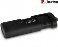 Kingston 16GB DataTraveler 100 G2 Zwart USB Stick 2.0 Flash Drive