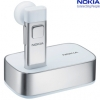 Nokia BH-804 Bluetooth Headset Special Edition Silver / White