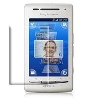 PDair Anti-Glare Screen Protector Folie v Sony Ericsson Xperia X8