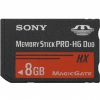 Sony 8GB Memory Stick PRO-HG Duo HX v. oa Full HD Video (50Mb/s)