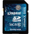 Kingston 16GB SDHC Card Class 10 G2 UltimateX (100x, 20MB/s)