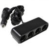Sigaretten aansteker 12V Car Splitter 4-Weg (4-in-1 DC Socket)