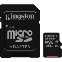 Kingston 128GB MicroSDXC Class 10 / UHS-1 (45MB/s)