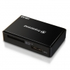 Transcend USB 3.0 All-in-1 MultiCard Reader Kaartlezer Zwart