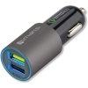 4Smarts Qualcomm Quick Charge Dual USB Autolader 3.1A - Zwart