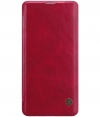 Nillkin Qin PU Leather BookCase - Samsung Galaxy S10 Plus - Rood