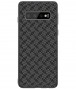 Nillkin Case Synthetic Fiber Samsung Galaxy S10+ - Plaid Zwart