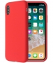 "So Seven Smoothie SiliconeCase - iPhone X/XS (5.8"") - Rood"