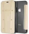 "Guess Kaia Book Case voor Apple iPhone 6/6S/7/8 (4.7"") - Goud"