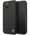 BMW Signature Leather Hard Case - iPhone 11 Pro (5.8'') - Zwart