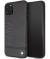 "BMW Signature Leather Hard Case iPhone 11 Pro Max (6.5"") - Zwart"