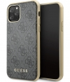 Guess 4G Hard Case - Apple iPhone 11 Pro Max (6.5'') - Grijs
