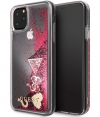"Guess Hearts Glitter Hard Case iPhone 11 Pro Max (6.5"") - Roze"