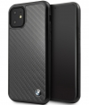 BMW Carbon Hard Case - Apple iPhone 11 (6.1'') - Zwart