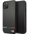 BMW Carbon Tricolore Hard Case iPhone 11 Pro Max (6.5'') Zwart