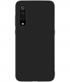 Nillkin Hard Case Synthetic Carbon voor Xiaomi Mi 9 - Zwart