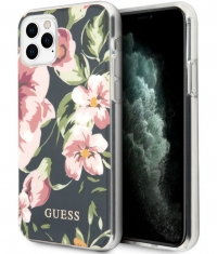 "Guess Shiny Flower Hard Case iPhone 11 Pro (5.8"") - Design N.3"