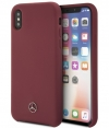"Mercedes-Benz Silicone Case - Apple iPhone X/XS (5.8"") - Rood"