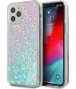 "Guess 4G Liquid Glitter Case - iPhone 12 Pro Max (6.7"") - Blauw"