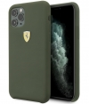 "Ferrari SF Silicone Case - Apple iPhone 11 Pro Max (6.5"") - Groen"