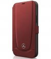 "Mercedes-Benz Urban Line Book Case iPhone 12 Pro Max (6.7"") Rood"