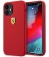"Ferrari SF Silicone Case voor Apple iPhone 12 Mini (5.4"") - Rood"