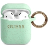Guess Silicone Case voor Apple Airpods 1 & 2 - Groen