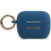 Guess Silicone Case voor Apple Airpods Pro - Blauw