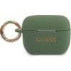 Guess Silicone Case voor Apple Airpods Pro - Khaki