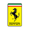 Ferrari Stripe Carbon Hard Case - iPhone 12/12 Pro (6.1