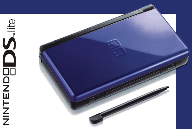 digitalsonline nintendo ds lite game console cobalt blue. Black Bedroom Furniture Sets. Home Design Ideas