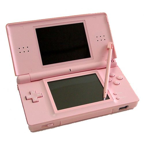 digitalsonline nintendo ds lite game console coral pink. Black Bedroom Furniture Sets. Home Design Ideas