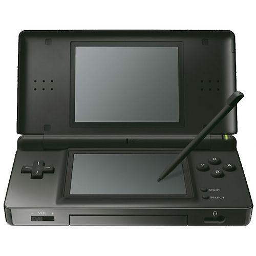 digitalsonline nintendo ds lite game console black zwart. Black Bedroom Furniture Sets. Home Design Ideas